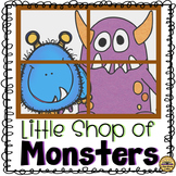 Little Shop of Monsters Literature Unit with Editable Glyp