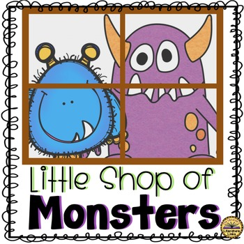 Little Shop of Monsters Literature Link {Editable Glyph an