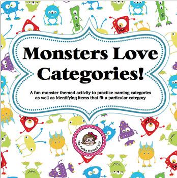 Monsters Love Categories!