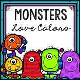 Monsters Love Colors Book Companion