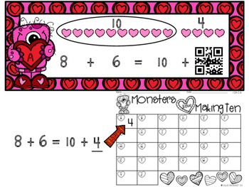 Monsters Love Making Ten: A Valentine's Day Math Game
