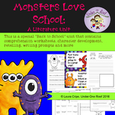 Monsters Love School: A Back to School Literature Unit + T