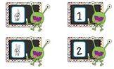 Monsters Make 5-Common Core games to teach Kindergarten Fluency Standard