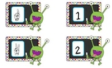 Monsters Make 5-Common Core games to teach Kindergarten Fl