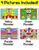 Color by Number Monster Math: Addition, Subtraction, Multiplication, Division