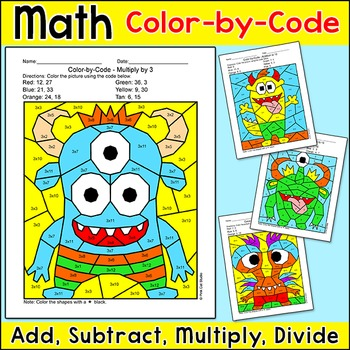 Math Key Words For Addition, Subtraction Multiplication And Division ...