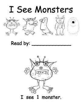 Monsters Mini-Unit (Kindergarten or Preschool)