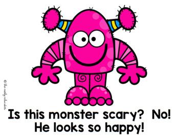 Monsters Mini Unit for Kindergarten