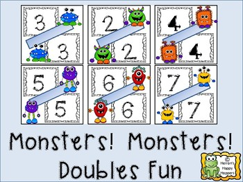 Monsters! Monsters! Doubles Fun