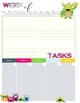 Monsters Monthly & 1 Page per Week Planner