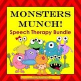 Monsters Munch! Speech Therapy Bundle