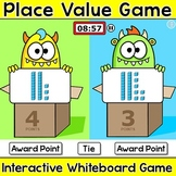 Base Ten Blocks Place Value Game for Hundreds, Tens & Ones