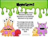 Monsters Poem