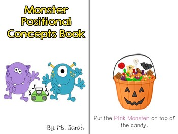 Monsters Positional Concepts Book