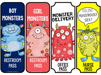 Monsters TWO Theme Decor Pack