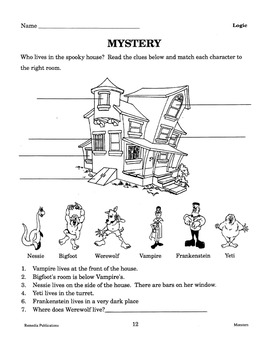 Monsters: Thematic Skill-Builder Unit for All Subjects