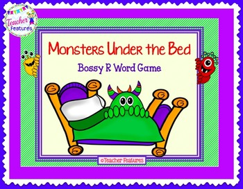 Bossy R Game: Monsters Under the Bed