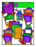 Monsters Under the Bed {Creative Clips Digital Clipart}
