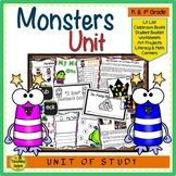 Monsters Unit:  Activities & Centers