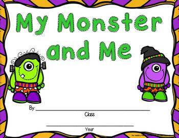 Monsters Unit:  Activities & Centers