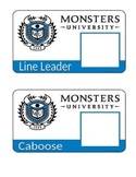Monsters University Theme Classroom Job Posters