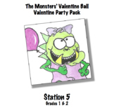 Monsters' Valentine Ball - Station 5 Fun & Games with Cooties