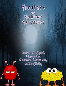 Halloween Activities Monsters