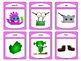 Monsters and The Body Spoons Card Game -The Body Vocabulary in English