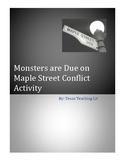 Monsters are Due on Maple Street Fun Conflict Activity