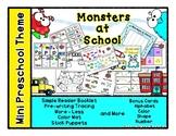 Monsters at School - Mini Preschool Theme - Back to School