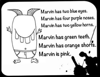 Monsters colouring worksheet