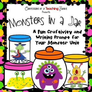 Monsters in a Jar – An Art and Writing Craftivity