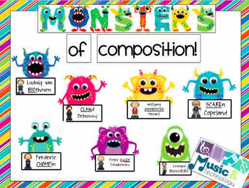 Monsters of Composition Bulletin Board