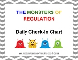 Monsters of Regulation Daily Check-In Chart- Zones of Regulation companion
