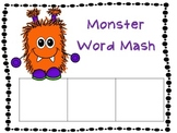 Monsters.....are they REAL or NONSENSE CVC words and SOUND BOXES