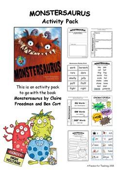 Monstersaurus Activity Pack