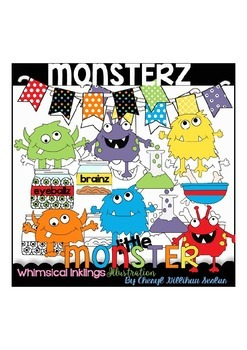 Monsterz Clipart Collection