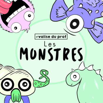 Monstres cliparts-monsters