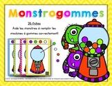 Monstrogommes – Les machines à gommes [Math Centers]