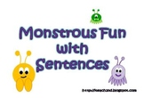 Monstrous Fun With Sentences - Kinds of Sentences