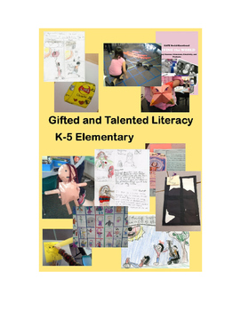 Monstrous Gifted and Talented Literacy Curriculum 1,140 Pages 36 Units
