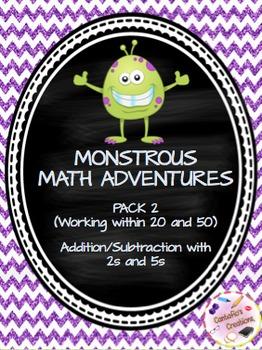 Monstrous Math Adventures Pack #2