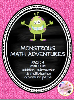 Monstrous Math Pack #4