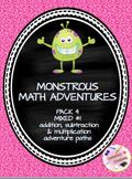 Monstrous Math Pack #4