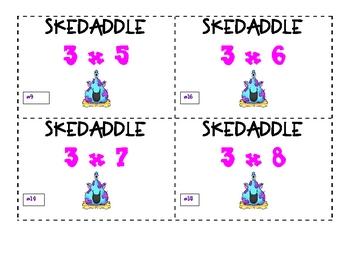 Monstrous Multiplication Skedaddle