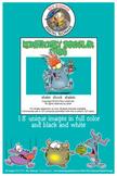Monstrously Irregular Verbs Cartoon Clipart | Verbs clipart for ALL grades