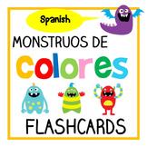 Monstruos de Colores - Spanish Color/ Colour Flashcards (Español)