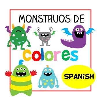 Monstruos de Colores - Spanish Color/ Colour Poster (Español)