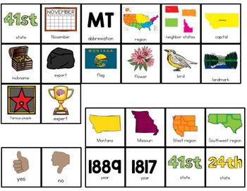 Montana Adapted Books (Level 1 and Level 2)   Montana State Symbols