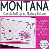 Montana Coordinate Graphing Picture 1st Quadrant & ALL 4 Quadrants